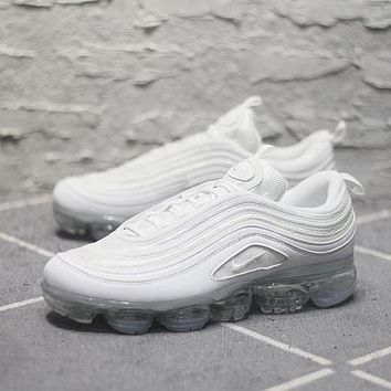 Nike Air Max 97 VaporMax Q100-3200 White Sport Running Shoes