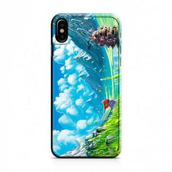 moving castle iPhone X Case