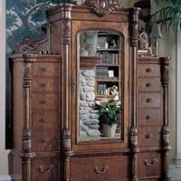 Victorian trading Co. - www.victoriantradingco.com - Edwardian Armoire