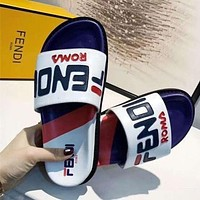 Fendi Fashion Leisure Slippers Shoes