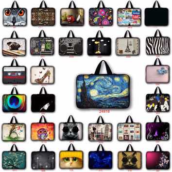 customize fundas portatil 15'6 7 9.7 14.6 15.6 17 17.3 Laptop pouch bag Sleeve notebook cases for macbook pro 15 case LB-24818