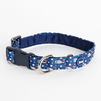Pet Accessories: Flag Whale Dog Collar - Vineyard Vines