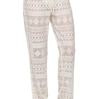 Rip Curl Escape Beach Pants - Womens Pants - Vanilla - Extra Large