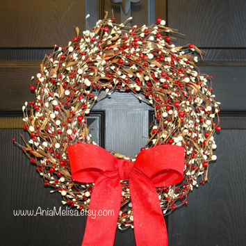 pip berry Christmas wreaths berries wreaths welcome weddings wreaths front door wreaths fall decor Thanksgiving Christmas wreaths