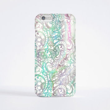 iPhone 6 Case, iPhone 6 Plus Case, iPhone 5S Case, iPhone 5 Case, iPhone 5C Case, iPhone 4S Case, iPhone 4 Case - Paisley Ombre