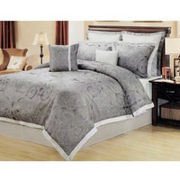 Veronique 8-Piece Queen Bedding Set 611196194