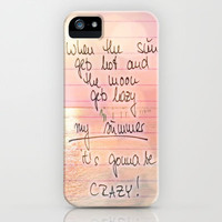 ♥ ♥ ♥    MY SUMMER     ♥ ♥ ♥     iPhone Case by M✿nika  Strigel FOR IPHONE 5 + 4S + 4 + 3 GS + 3 g + Pillow + SKIN + ipod touch