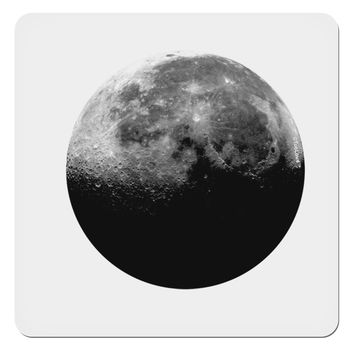 "Moon of Earth 4x4"" Square Sticker"