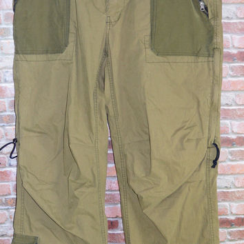 Abercrombie & Fitch XL Mens Cargo Parachute Pants Outdoor