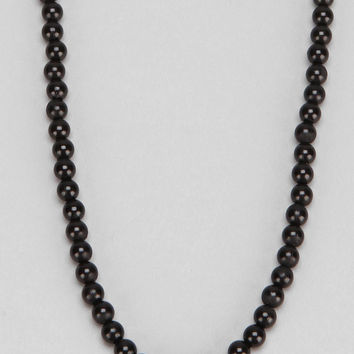 Glossy Bead Necklace