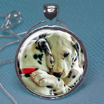 Custom Puppy photo jewelry, 1-Sided puppy photo jewelry, puppy photo necklace, puppy lover jewelry,puppy lover necklace,puppy charm: N000212