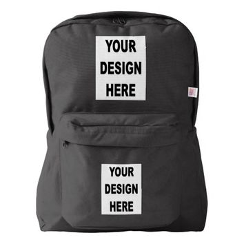 Customized American Apparel Backpack