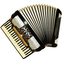 Horch Superior, 120 Bass, 14 Registers, German Piano Accordion, 618