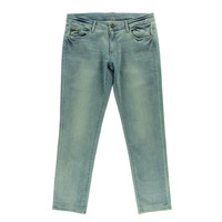 DL1961 Womens Riley Faded Mid-Rise Boyish Jeans