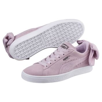 Suede Bow Uprising Women's Sneakers | Winsome Orchid-Puma White | PUMA Bow | PUMA United States