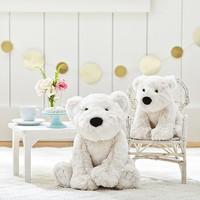 Faux Fur Polar Bear Plush