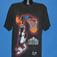 90s Denver Nuggets Daffy Duck t-shirt Extra Large
