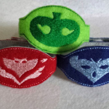 Pj Masks Super Hero Bracelets Set of 3