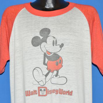 80s Mickey Mouse Walt Disney World t-shirt Extra Large