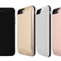 7500mAh External Battery Case Charger Charging Cover Backup For iPhone 7 Plus