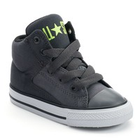 Converse All Star High-Top Sneakers for Toddler Boys (Grey)