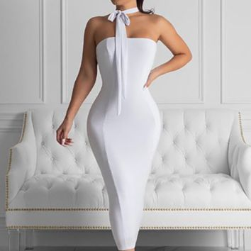 Hot style sells sexy neckwear and belted dresses