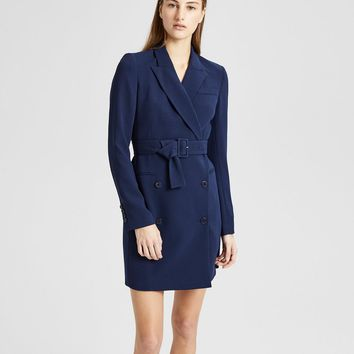 Crepe Blazer Dress