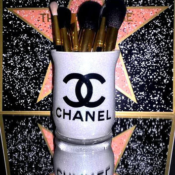 Coco CC Chanel Makeup Brush Holder - YOU CUSTOMIZE!