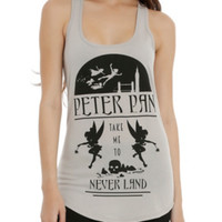 Disney Peter Pan Take Me To Neverland Girls Tank Top