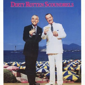 Dirty Rotten Scoundrels 27x40 Movie Poster (1988)