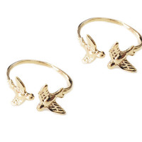 Love Birds Ring Duo