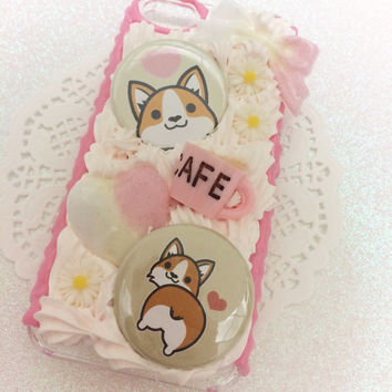 Made to Order! Corgi Decoden Case for any phone