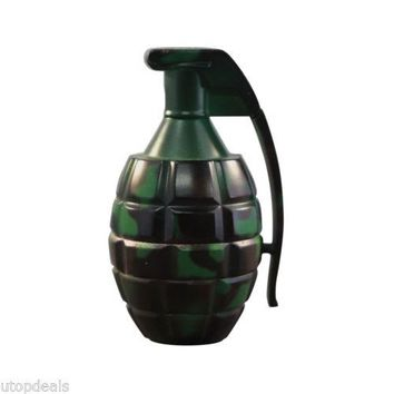 Camo Hand Grenade Herb and Spice Grinder, Camouflage