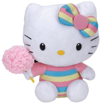 Ty Hello Kitty - Cotton Candy