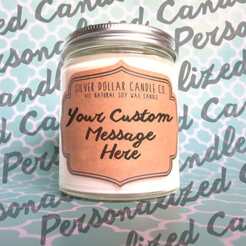 Personalized Gift, Wedding Gift, Gift for Mom, Boyfriend Gift, Birthday Gift, Personalized Candle, Mothers Day Gift, Husband Gift, candle