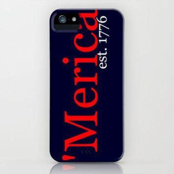 DCCKHD9 Merica iPhone Case by Jordan Virden | Society6