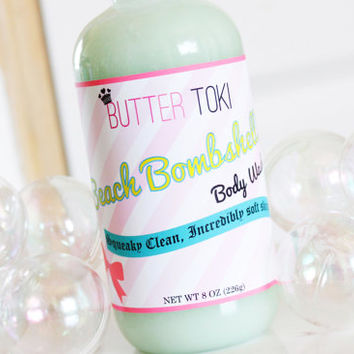 Beach Bombshell Moisturizing Body Wash- Cucumber & Cantaloupe 8oz
