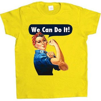Rosie The Riveter -- Women's T-Shirt