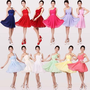 New 2014 Fashion bridesmaid dresses party dress bride banquet wedding dress formal dress X166 = 1930208068