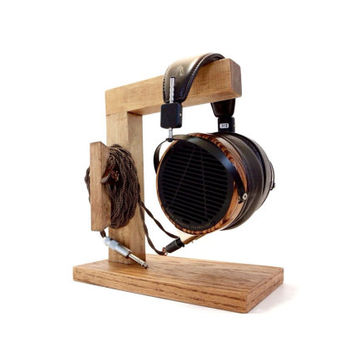 "Unique Handmade Custom Headphone Stand I/Headphone Station I v. 2 Headphone Stand ""Hermes"""