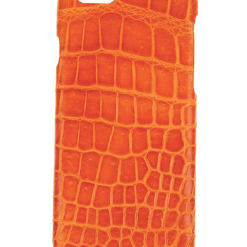IPhone 6 Case Alligator Orange