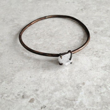 Moroccan Quartz Bangle by Heron and Lamb