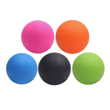 TPE Peanut Massage Ball Lacrosse Fitness Balls Therapy Gym Relaxing Exercise Yoga Ball Release Muscle