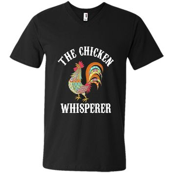 Chicken Whisperer Funny Farmers T-shirt cool shirt