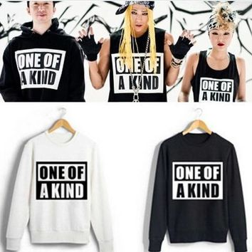 kpop  BIGBANG GD one of a kind kpop bigbang clothes bigbang kpop hoodie jacket  bigbang album