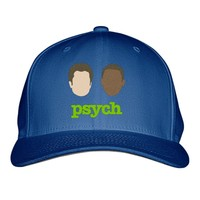 Psych Embroidered Baseball Cap