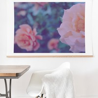 Leah Flores Pretty Floral Art Print And Hanger