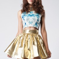 Jade & Belle -  Keepsake - Trust In Me Skirt in Gold - Buyers Picks