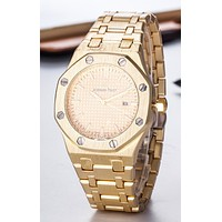 Perfect Audemars Piguet Ladies Men Fashion Quartz Watches Wrist Watch