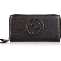 Gucci - Soho textured-leather continental wallet